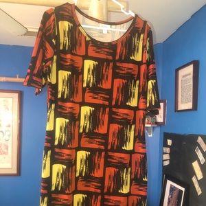 Block pattern Lularoe dress